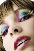 Closeup in color Stock Photos