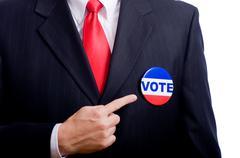 election symbols - stock photo