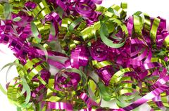 decorative ribbon background - stock photo