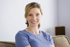 Stock Photo of Portrait of smiling woman