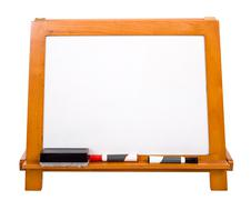 Tyhjä markerboard valkoinen Kuvituskuvat