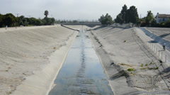 The Los Angeles River - Los Angeles Stock Footage