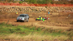 Stock Video Footage of Autocross Buggy