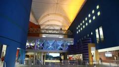 Barra Shopping is the largest mall in Rio de Janeiro, Brazil Stock Footage
