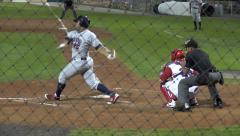Baseball Batter, Strike, Sports, Athletics Stock Footage