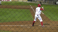 Stock Video Footage of Wild Pitch, Poor Accuracy, Baseball, Sports
