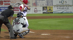 Wild Pitch, Poor Accuracy, Baseball, Sports Stock Footage