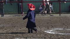 Rodeo, silly 3 legged rodeo clown dancing, #2 Stock Footage