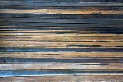 Two colored horizontall flooring planks background Stock Photos