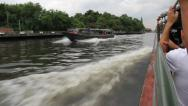 Stock Video Footage of Bangkok Canal Boat 6475