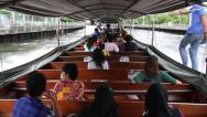 Stock Video Footage of Bangkok Canal Boat 6482