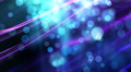 Abstract fantasy motion background, shining lights and particles HD Footage