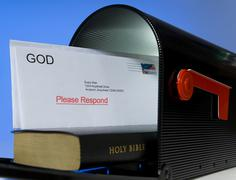 Stock Photo of mail from god
