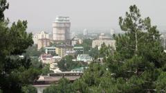 Dushanbe, Tajikistan - stock footage