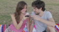 drinking red wine HD Footage