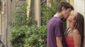 kisses and caresses of two young lovers - passion HD Footage