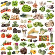 Group of vegetables Stock Photos