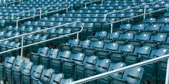 stadium seating - stock photo