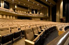 large auditorium - stock photo