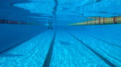 Swimm-Breast stroke Stock Footage