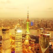 shanghai - stock photo