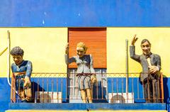 Statues in Buenos Aires Stock Photos