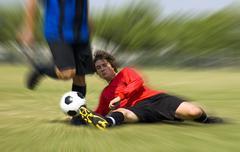 Jalkapallo - jalkapallo - puuttua! Kuvituskuvat