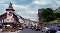 Bagnoles-de-l'Orne (1) - France (25fps) Stock Footage