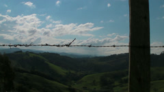 A Look over the Valley in Brazil Stock Footage