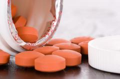 medication - over the counter - otc - stock photo
