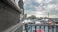 Stock Video Footage of Dresden City Festival Time Lapse