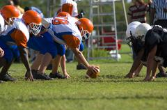 American football - youth Stock Photos