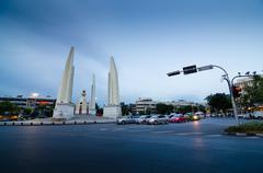 Democracy monument in bangkok, thailand Stock Photos