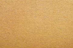 orange fabric - stock photo
