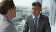 Business matters Stock Footage