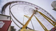 Stock Video Footage of Big Wheel Time Lapse
