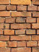 Texture of the brick wall - stock photo