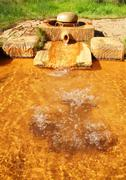 Stock Photo of Thermal spring in the spa