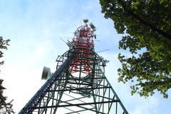 Radio Tower - stock photo