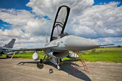 F-16 Fighting Falcon from Royal Netherlands Air Force Stock Photos