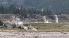 Yellowstone Rivers - stock footage