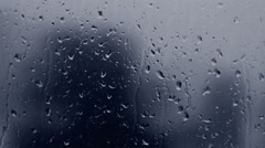 Rain Drops on Window Glass HD - stock footage