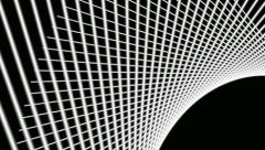 Grid white line Stock Footage
