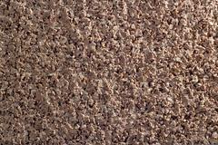 Cork texture macro Stock Photos