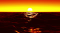 Ocean Waves Sunset LM08 Loop Animation Footage