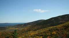 Mountain in Acadia National Park Stock Footage