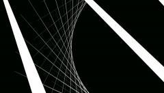 White net line Stock Footage