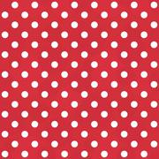 Vintage white and red pattern - seamless polka dots Stock Illustration
