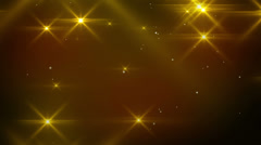 Flashing light flares loopable background Stock Footage