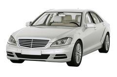 Contemporary luxury car isolated Stock Photos